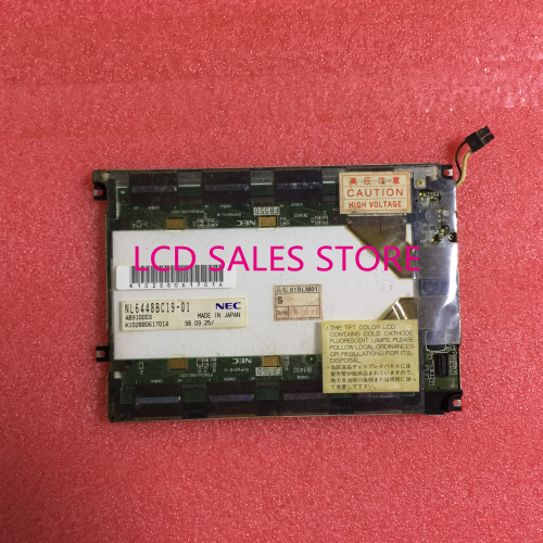 NL6448BC19-01 INDUSTRIAL LCD 6.1 INCH ORIGINAL A+GRADE MADE IN JAPAN lm64c142 industrial lcd original made in japan a in good condition