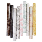 5M Modern Waterproof Vinyl Self-adhesive Wallpaper Marble Contact Paper Kitchen Cabinet Shelf Drawer Lining Wall Sticker