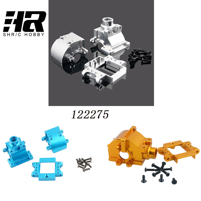 Free shipping RC car 1/10 HSP 122275 06046 06045  With Screw*10  gear box Nitro Buggy Truck Monster car 94122 94188 94166 2pcs rc car 1 10 hsp 06053 rear lower suspension arm 2p for 1 10 4wd rc car hsp 94155 94166 94177