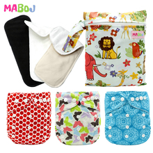 MABOJ Cloth Diaper Cover Adjustable Nappy Reusable Diapers Washable Pocket Set Available 0-2years Baby Wholesale
