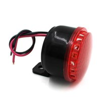 Motorcycle Car Van Vehicle Loud Siren Security Horn 12V with 6 Sounds CS-038 Motorcycle Brakes Horn with Plastic metal Material