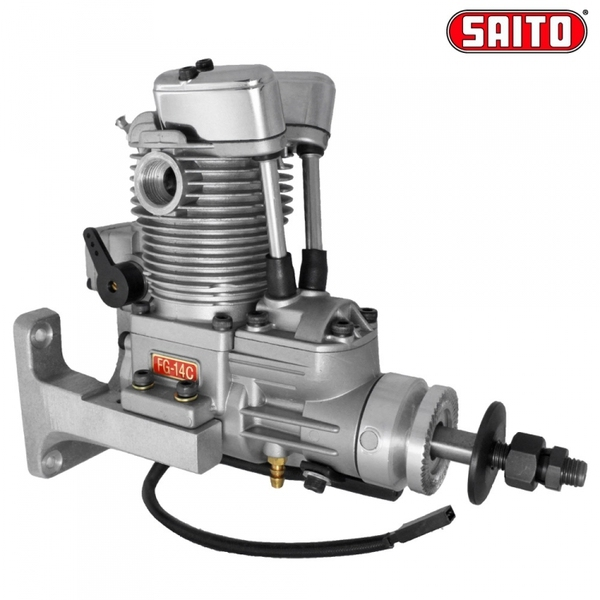 US $549 99 |Saito Engines FG 14C(82B) 4 Stroke Gas Engine 14cc motor For RC  AirPlane Aircraft Plane Equipped with FA 82B-in Parts & Accessories from