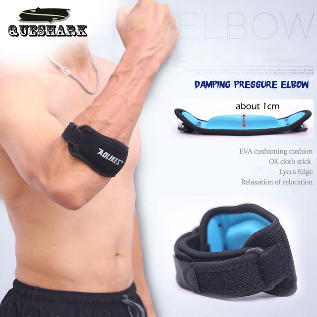 Adjustable Basketball Badminton Tennis Golf Elbow Support Golfer's Strap Elbow Pads Lateral Pain Syndrome Epicondylitis Brace