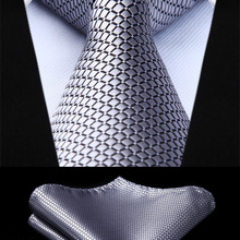 TC614A8S Men Fashion Gray Check & Plaid 3.4