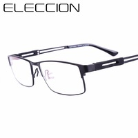 ELECCION Modèle D'affaires de la Marque Optique lunettes Cadre Hommes Nouveau Européenne Plein Cadre Myopie Lunettes de Prescription Cadre