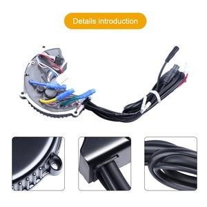 Image 2 - Bafang Kit de moteur 48V, 750W, 25a, 9T, capteur de vitesse 3077, câble lumineux 6V pour BBS02B, système de Conversion à entraînement central dans le pédalier