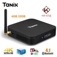 Tanix TX28 TV Box Andriod 7 1 RK3328 4GB RAM 32GB ROM 2 4G 5G WiFi