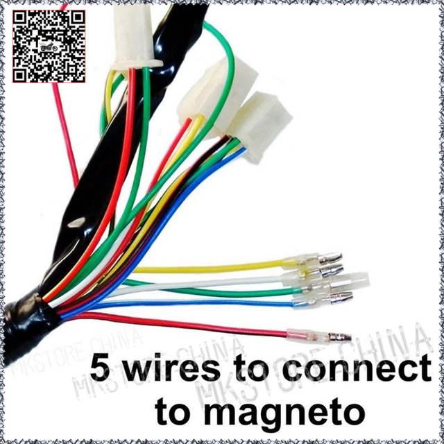 Atc 110 5 Wire Cdi Diagram - Wiring Diagram Schematics Magneto Coil Wiring Atv Diagram on