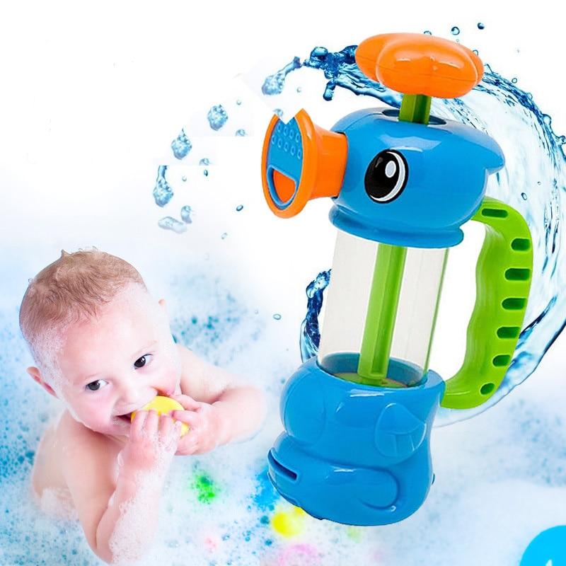 1 pz new divertenti giochi dacqua per bambini ippocampo stile giocattoli da bagno piscina