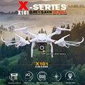 HOT X101 MJX RC Drone Quadcopter 2.4G 6-axis pode adicionar C4018 com Câmera de 2MP WI-FI FPV RTF RC Helicópteros VS SYMA X8HW