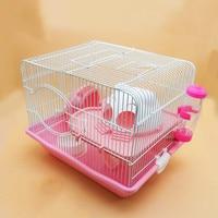A1 Creative pet supplies hamster small pastoral luxury double decker villa cat headband running wheel cage AP1009945