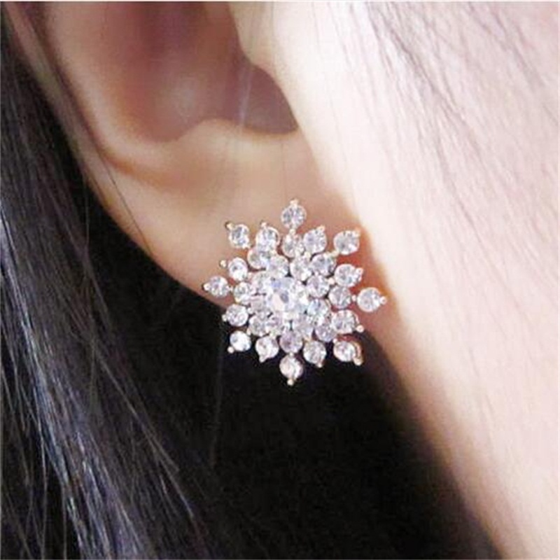 Hot Fashion Earrings New 2017 Girls Earing Bijoux Splinter Stud Earrings For Women Wedding Jewelry Earrings Wholesale