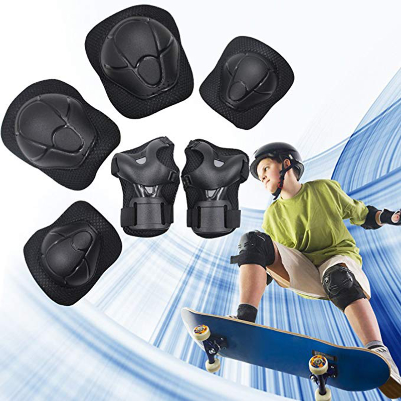 Kids Youth Knee Pad Elbow Pads Guards Protective Gear Set for Rollerblade Roller Skates Cycling BMX Bike Skateboard Inline Skate in Elbow Knee Pads from Sports Entertainment