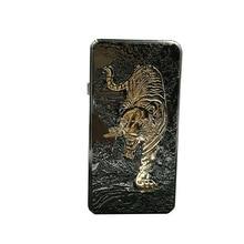 พ็อกเก็ตโลหะเสือ/อีเกิล/มังกรWindproofเบาชาร์จUSBบุหรี่อิเล็กทรอนิกส์เบาLighterสำหรับของขวัญ