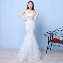 Mingli Tengda Luxury Lace Wedding Gowns Beaded Bride Dress