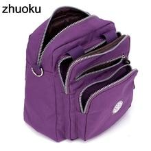 Women Messenger Bags Light Travel Handbag Waterproof Nylon Double Shoulder Bags Casual Quality Crossbody bag Lady Flap Tote