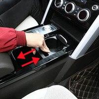 Центральной консоли слайд коробка для хранения подстаканник Средства ухода для автомобиля для Land Rover Discovery 5 LR5 S SE Салонные аксессуары