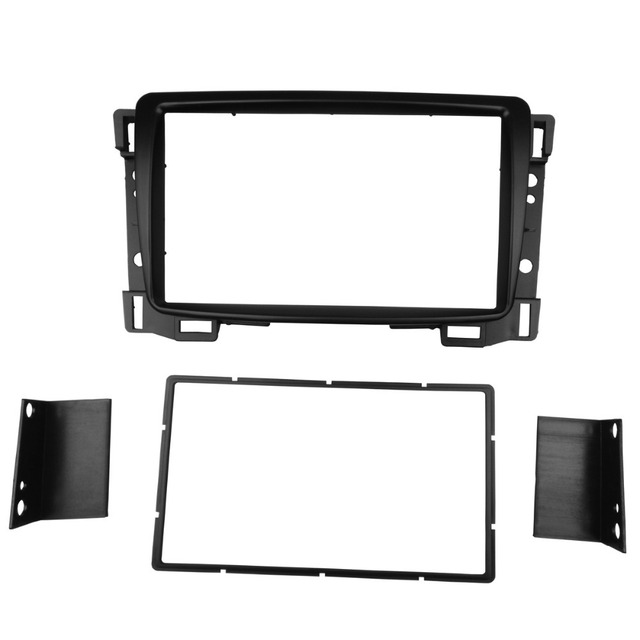 Radio Fascia for Chevrolet Sail Double 2 Din DVD Stereo Panel Dash Mount Install Trim Kit Refit Frame
