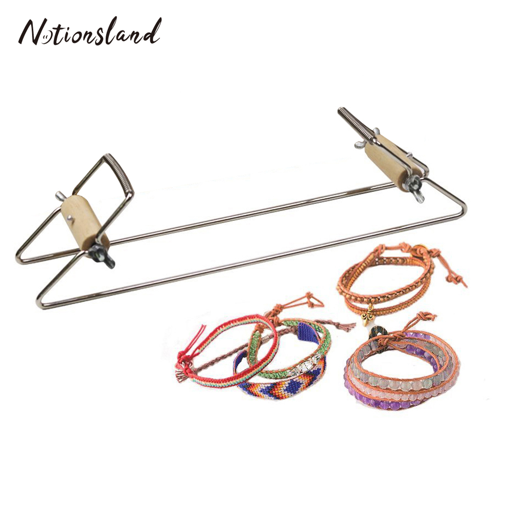Beads Jewellery Tools and Equipment 1pc As Pictured Warp Bead Loom