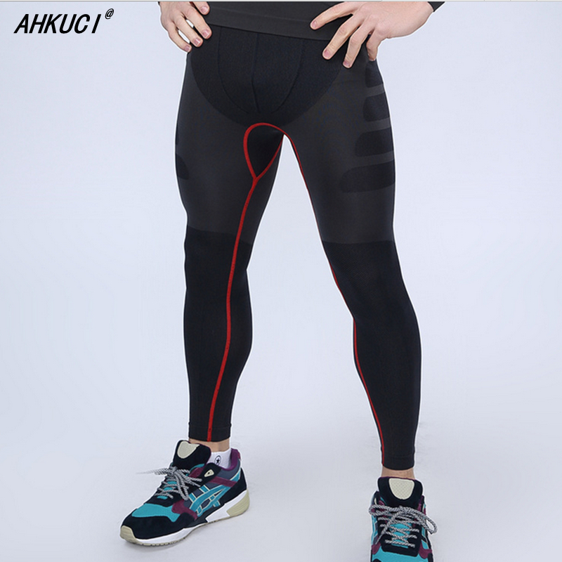 2017 New Men Joggers Skinny Compression Pants For Runs Bodybuilding Fitness Trousers Mens body engineers sweatpants leggings