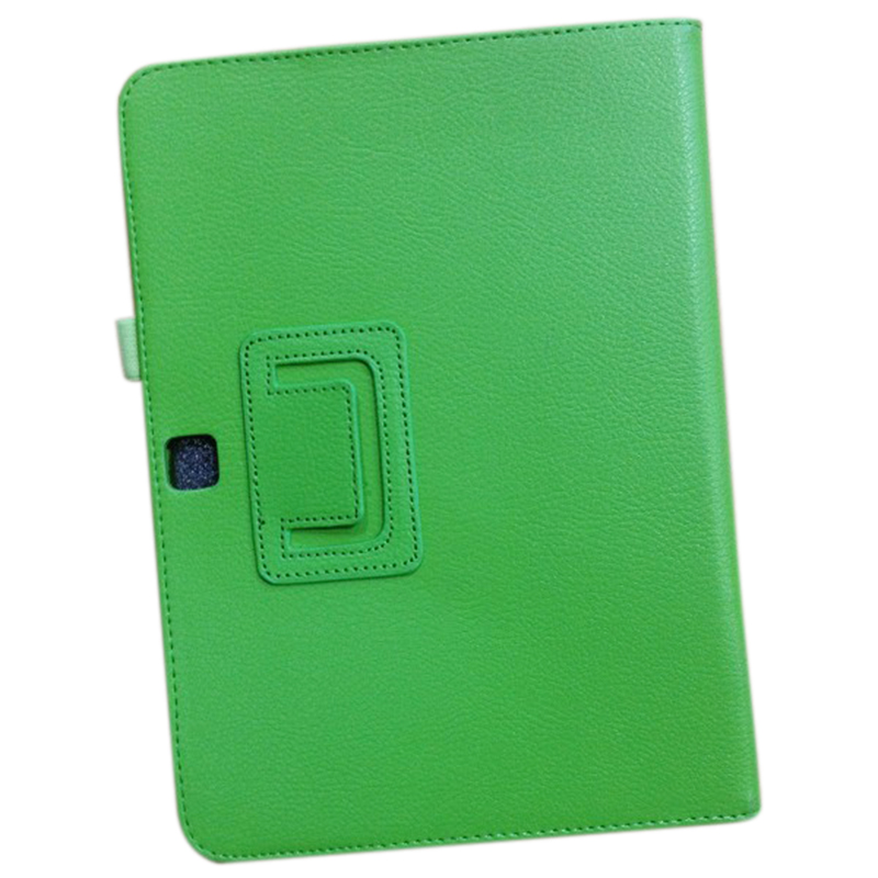 PU Leather Case Cover For Samsung Galaxy Tab 3 10.1 P5200 P5210 P5220 Tablet Colour:Green pu leather case cover for samsung galaxy tab 3 10 1 p5200 p5210 p5220 tablet