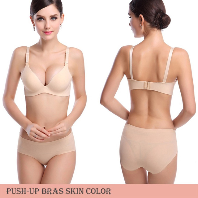 b940932c0d DeRuiLaDy New Sexy Seamless Bra Gather Adjustable Women Bra Seamless  Underwear Push Up Bra Brand Support Wholesale Lingerie