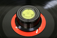 LP Record Metal Disc Stabilizer Weight Vinyl Record Turntable HiFi Accessory 50 60HZ Test Speed