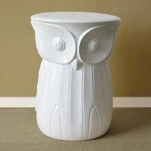 Гостиная керамические сова стул