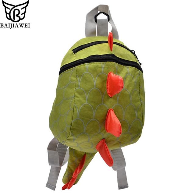 BAIJIAWEI Small Dinosaur Cute Kids Bag Kindergarten Baby Anti-lost Backpack  Children s School Bag For 20f3855a747c5