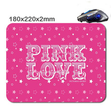 HOT SALES Custom Antiskid Red LOGO 3 D Mouse Pad 220 X180x2mm Office Accessory Tablet And Gift