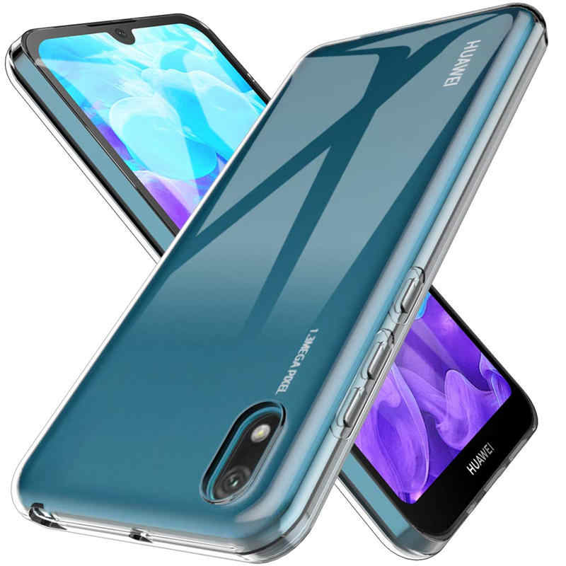 For Huawei Y5 2019 Case Transparent Soft Case For Huawei Y5 2019 AMN-LX1 AMN-LX2 AMN-LX3 AMN-LX9 Y6 2019 Silicone Phone Case
