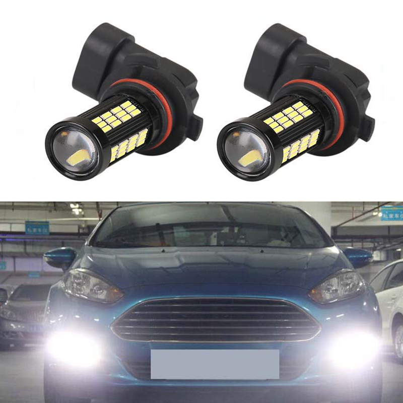2X H8 H11 Led Bulb Fog Lights Car Lamp Auto Light Bulbs For <font><b>FORD</b></font> MONDEO MK3 MK4 C-MAX S-MAX FOCUS 01+ <font><b>FUSION</b></font> image