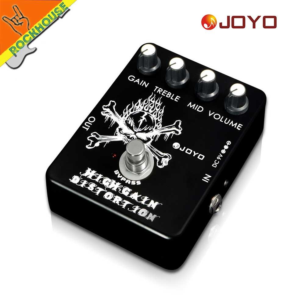 JOYO Classic Tube Distortion Guitar Pedal de efectos Crunch - Instrumentos musicales - foto 3
