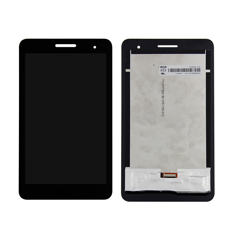 For Huawei Mediapad T1-701 T1-701U Display Panel LCD Combo Touch Screen Glass Sensor Replacement Parts touch screen digitizer glass panel replacement parts 8 for huawei mediapad t1 8 0 3g s8 701u honor pad t1 s8 701
