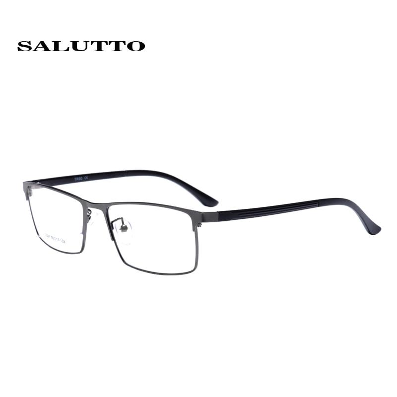 SALUTTO Optischen Rahmen Myopie Volle Brillengestell herren Business ...