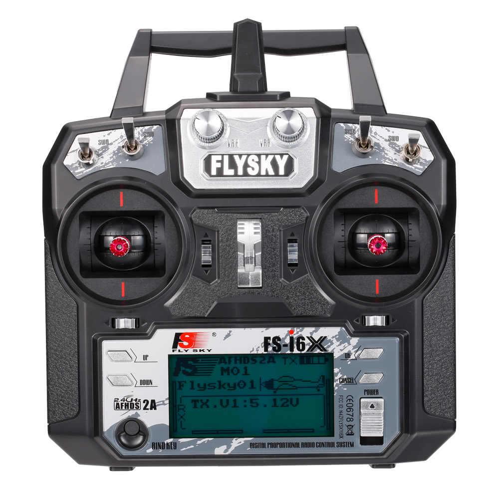 Flysky FS-i6X 2,4 ГГц 6CH AFHDS 2A rc-передатчик с FS-iA6B приемник FS I6X RC беспилотный самолет вертолет пульт дистанционного управления