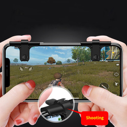 Mobile Game Fire Button Version 6 Smart Phone Mobile Gaming Trigger L1+ R1 Shooter for Knives out/ Rules of Survival/ PUBG