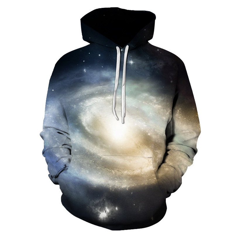 Starry Printed Hoodies Men 3d Hoodies Sweatshirts Boy Jackets Quality Pullover Fashion Tracksuits Streetwear Out Coat