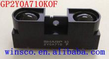 GP2Y0A710K0F 100% NOVO SHARP 2Y0A710K 100-500 cm sensor de distância Infravermelho (ADICIONAR CABO)