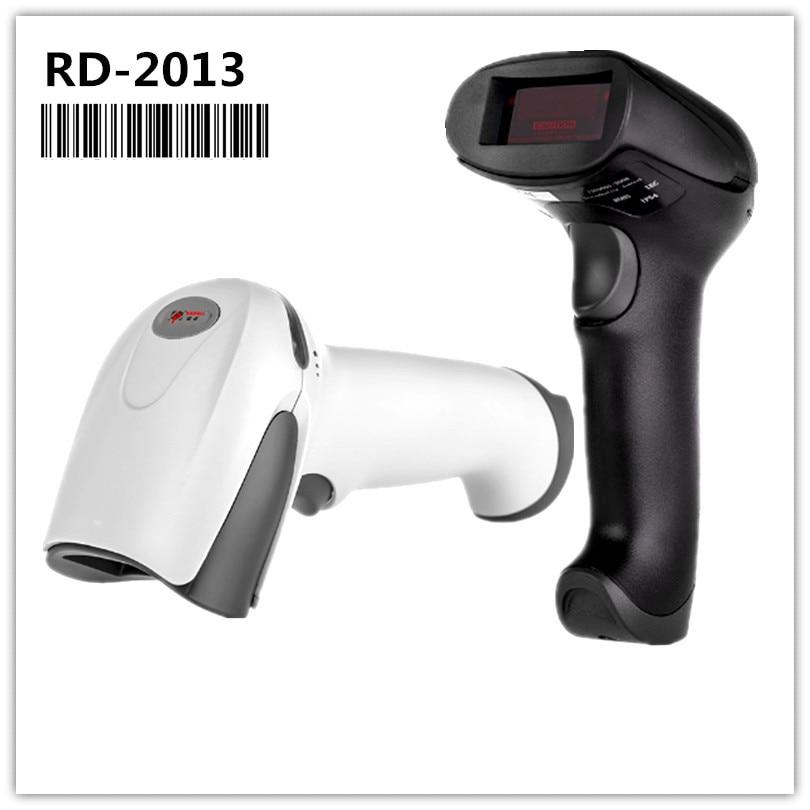 Rd-2013 низкая цена сканер штрих Читатель Портативный USB проводной 1D кабеля лазерный штрих код сканирования для pos Системы супермаркет