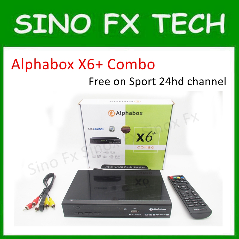 US $48 5 |powervu autoroll DVB T2/C/S2 Combo receiver Alphabox X6+ Combo  Support Cccam Newcamd Mgcamd-in Set-top Boxes from Consumer Electronics on