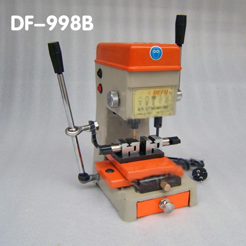 DF-998B Copie Clé Fraise machine à tailler les clés outils de serrurier serrure pick set d'ouverture de serrure de porte de clé de pièce de rechange