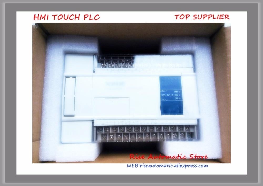 CPU AC220V 14 DI NPN 10 DO Transistors & New XC3-24T-E PLC