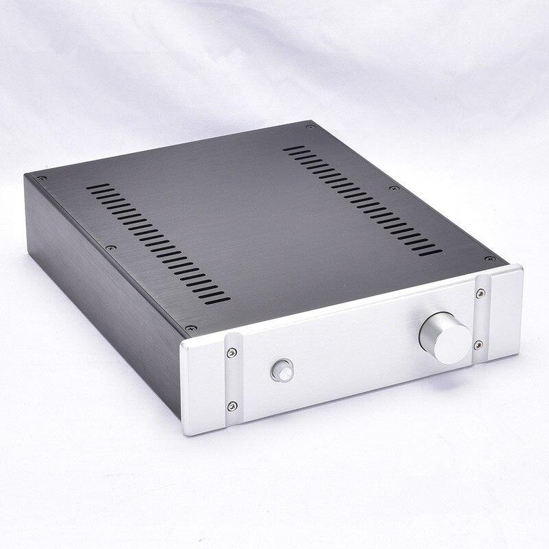 BZ2607B All Aluminum Preamplifier housing Amp Enclosure Mini Amplifier Chassis PSU DIY Case
