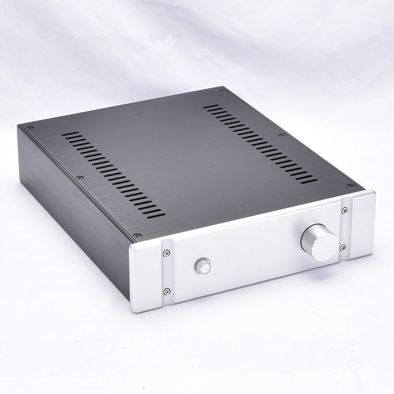BZ2607B All Aluminum Preamplifier housing Amp Enclosure / Mini Amplifier Chassis PSU DIY Case-in Amplifier from Consumer Electronics    1