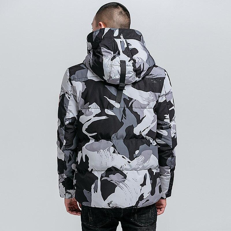Thicken Winter jacket Camouflage Men's