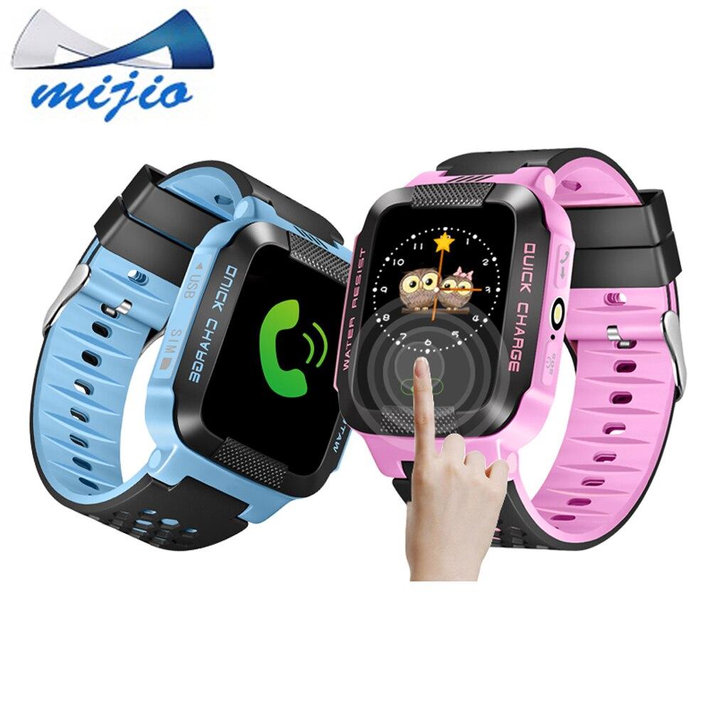 Смарт-Детские часы телефон Y21 q528 GPS трекер для детей безопасный sos-вызов anti-потерял напоминание Камера ребенок SmartWatch PK q100 Q90 часы