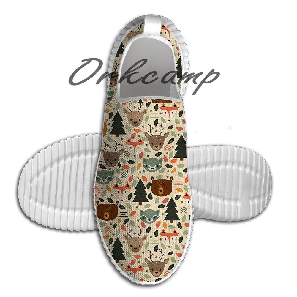 Chaussures de course Sport créatures boisées chaussures de marche légères chaussures de Yoga en maille respirante