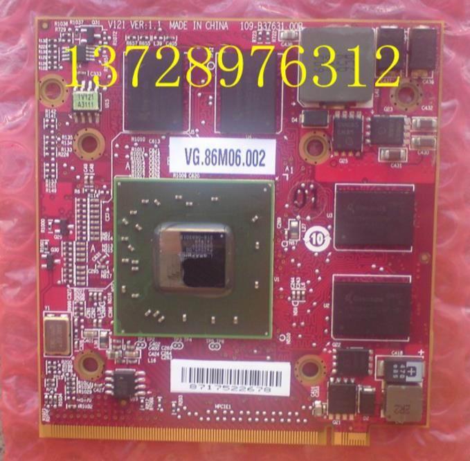 VG.86M06.002 HD3650 DDR3 256 M VGA carte Vidéo Pour ACER 4520 4720 4730 4920 4930 5520 5530 5710 5720 5920 5930 6920 6930 7520 7720