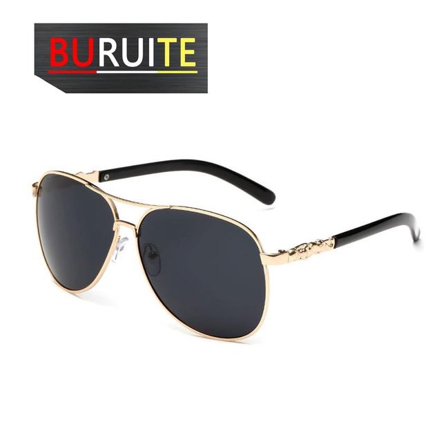 BURUITE-gafas de sol polarizadas clásicas para hombre y mujer, lentes de visión nocturna para Conductor, para conducir 4